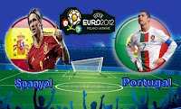 Menjelang Laga Spanyol vs Portugal Euro 2012