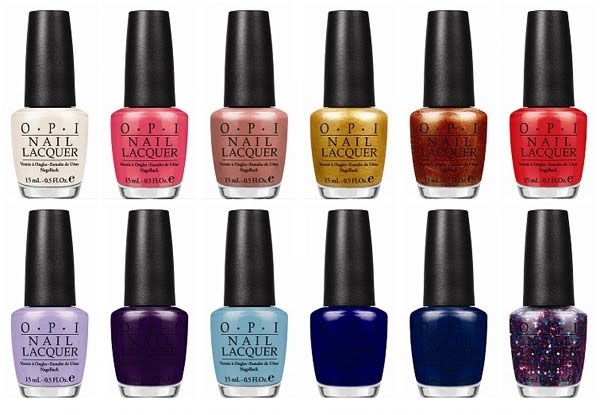 Giveaway: Win The Entire OPI Euro Centrale Collection, International, ends 28 March