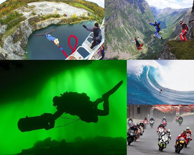 Os 5 esportes mais radicais e perigosos do mundo