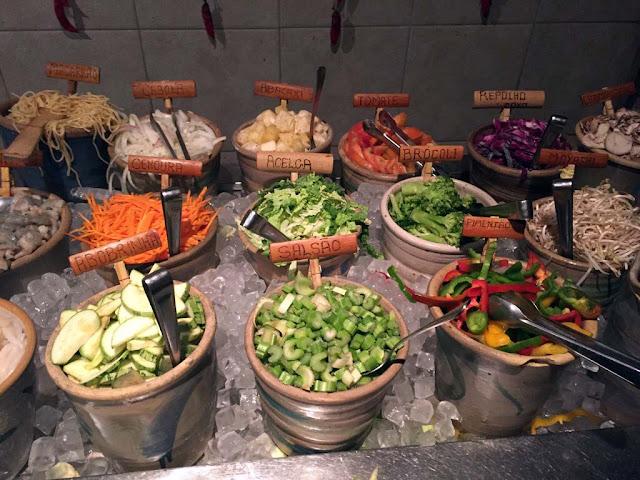 Restaurante Tantra e o famoso Mongolian Grill