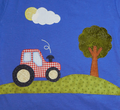 Camiseta patchwork. Camiseta con aplicación. Camiseta manga corta niño. Camiseta niño. Camiseta manga corta. Camiseta tractor..
