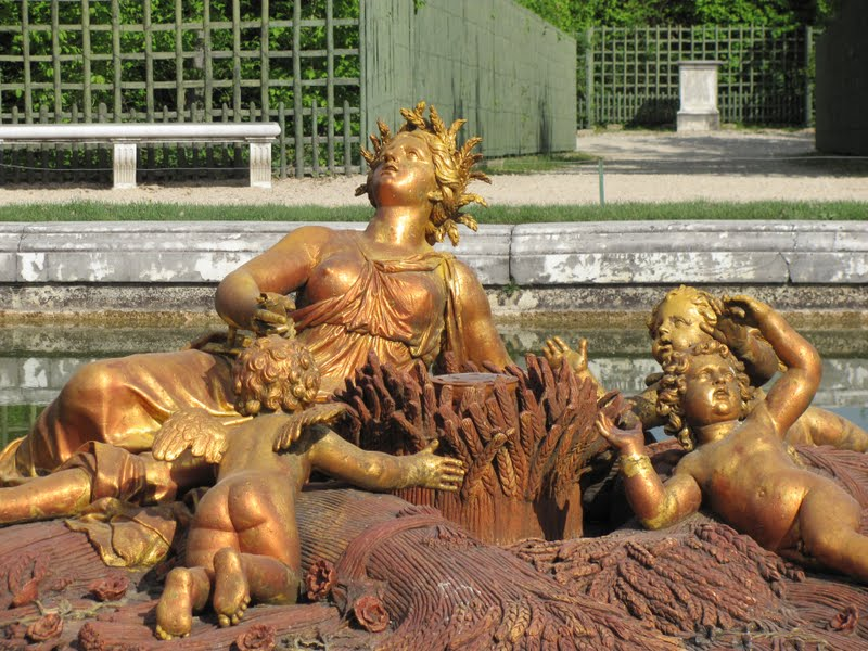 Image result for image of the four seasons fountain at versailles