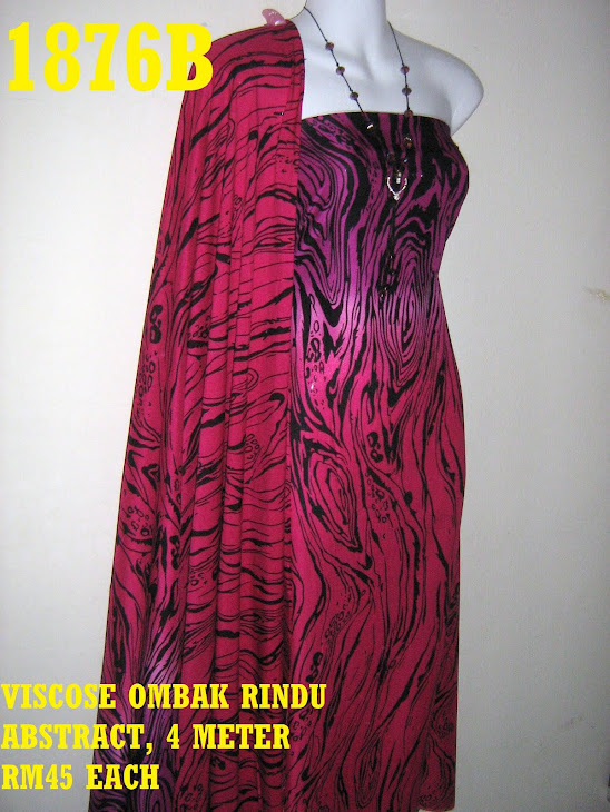 VOR 1876B: VISCOSE OMBAK RINDU ABSTRACT, 4 METER