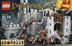 LOTR LEGO 9474 The Battle of Helm's Deep