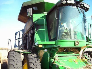John Deere 9770 combine
