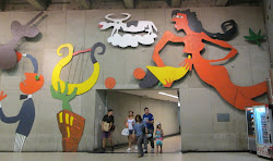 Santiago Subway Art