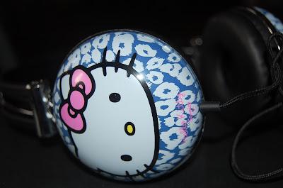 Auriculares Hello Kitty Blanco rebajas verano 2013