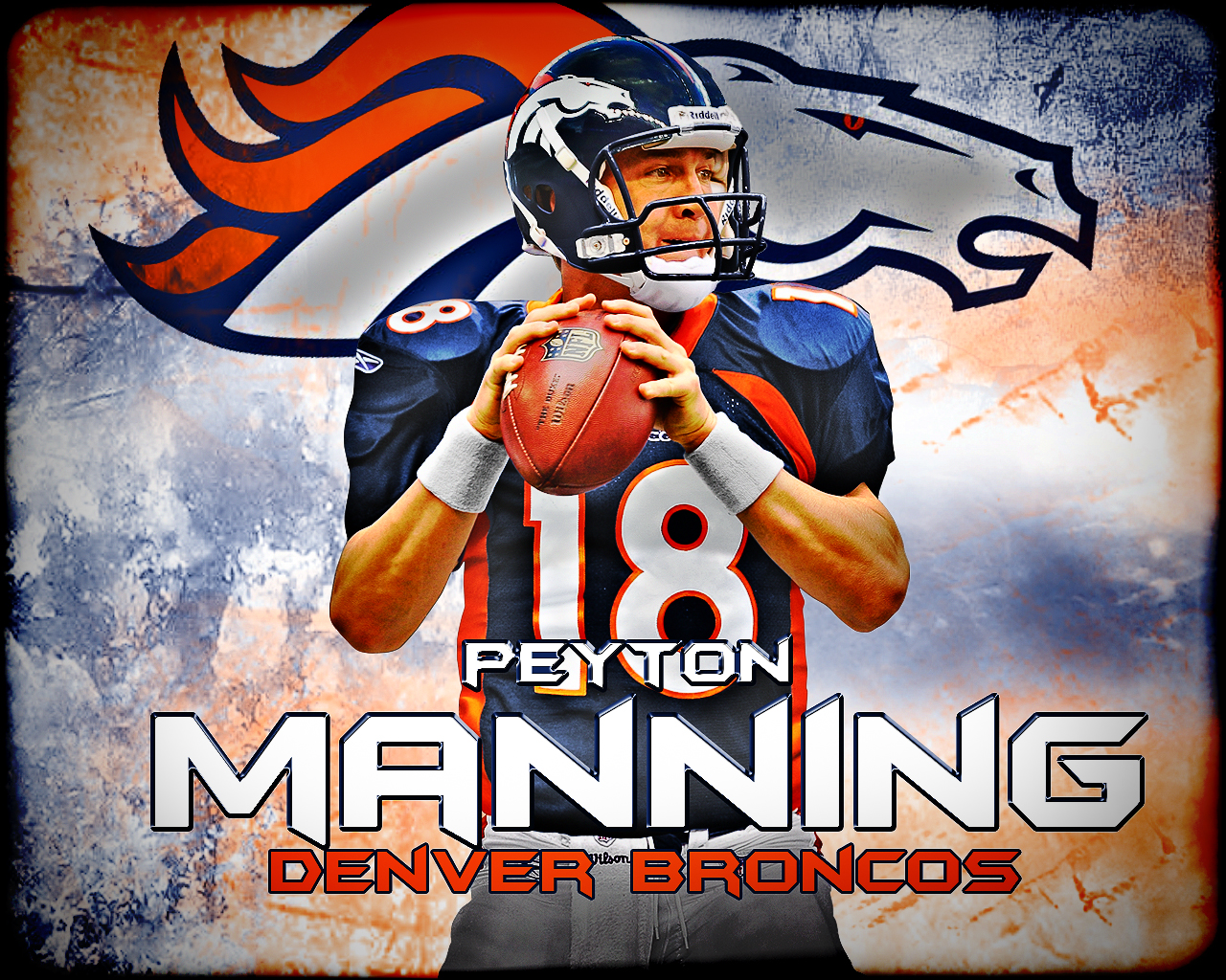 Nfl Wallpapers Peyton Manning Denver Broncos