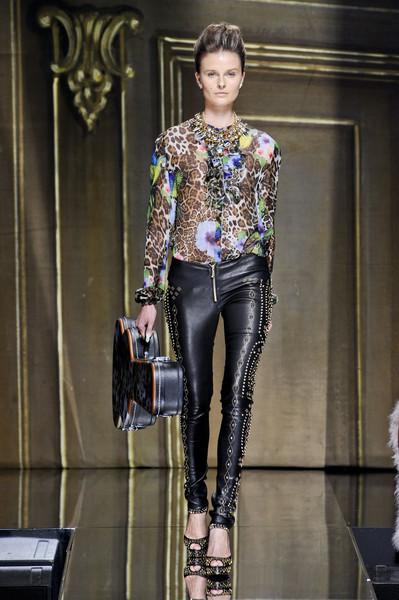 Milan Fashion Week S/S 2013: Vasilisa Pavlova in Philipp Plein show