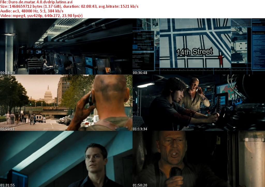 Duro.de.matar.4.0.dvdrip.latino s Duro de Matar 4.0 [DVDRip]   Español Latino