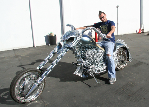 Pictures of Ghost Rider Bike Ghost Rider Bike Replica
