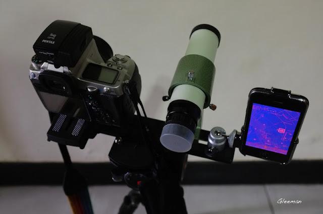 光靠星圖沒有尋星鏡實在不方便,使用長焦拍攝時用來搜尋天體必備