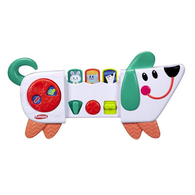TOYS : JUGUETES - PLAYSKOOL Poppin Pup Perrito Sorpresas   Cachorrito Divertido Bring Along Poppin Pup Producto Oficial 2016   Hasbro B4532   BEBE   Edad: +9 meses Comprar en Amazon España