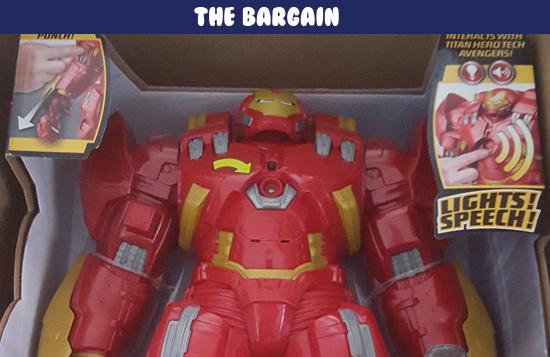 Hulkbuster interactive bargain