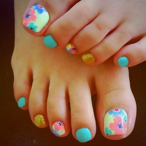 Beauty Nail Design For Women Toenail Designs