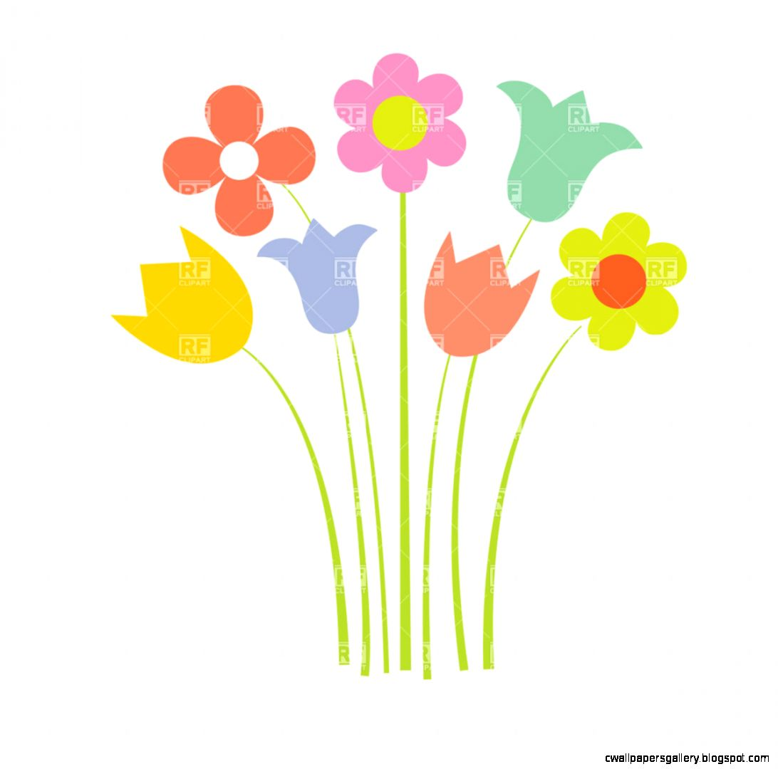 Simple Flower Clipart   Clipart Kid