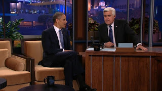 Obama on Leno: Surveillance, Russia's gay crackdown, and Trayvon Martin