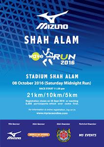 Mizuno Wave Run 2016 - 8 October 2016