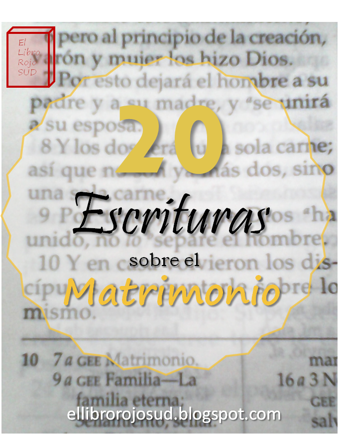 Matrimonio Eterno Biblia : El libro rojo sud escrituras sobre matrimonio