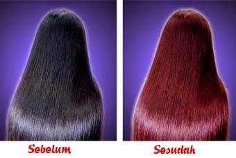 Merubah warna rambut dengan photoshop