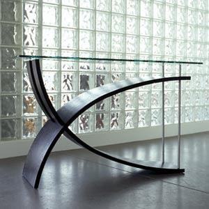 Furniture modern latest Furniture: Glass furniture design.