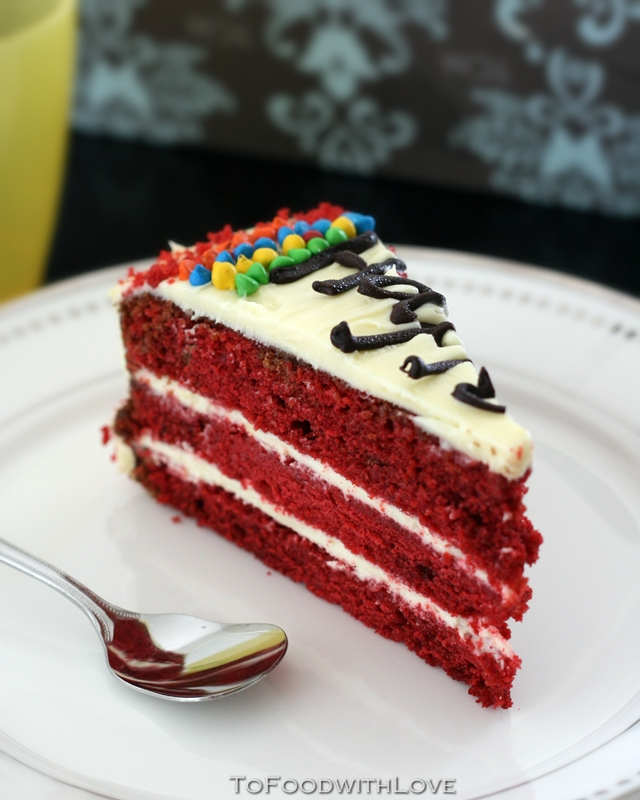 To Food with Love: Red Velvet Birthday Cake