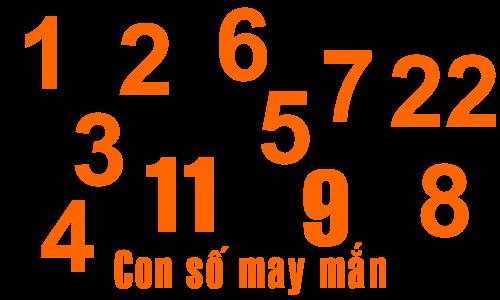Con số may mắn & cách tìm con số may mắn