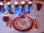 A Valentine's Day Tablescape