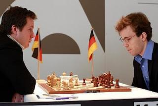 Echecs : Arkadij Naiditsch (2716) 1-0 Georg  Meier (2640) au Grenke Chess Classic Baden-Baden 2013