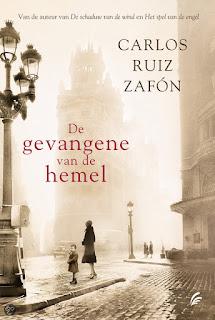 De gevangene van de hemel Carlos Ruis Zafon cover