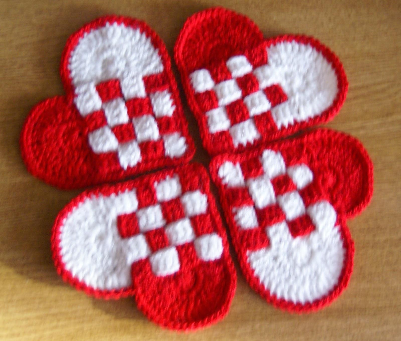 Excepcional Los Patrones De Crochet De San Valentín Cresta - Ideas ...