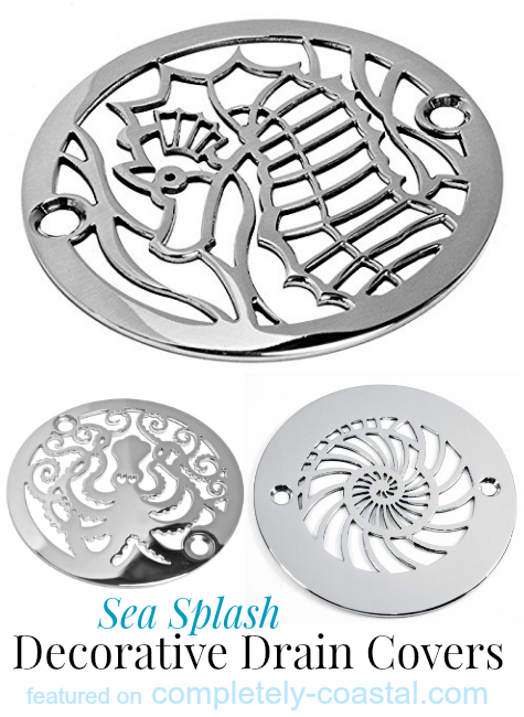 Decorative Drain Covers for the Shower