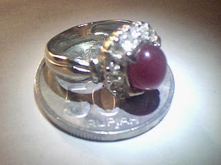 Batu Cincin Ruby Madagaskar
