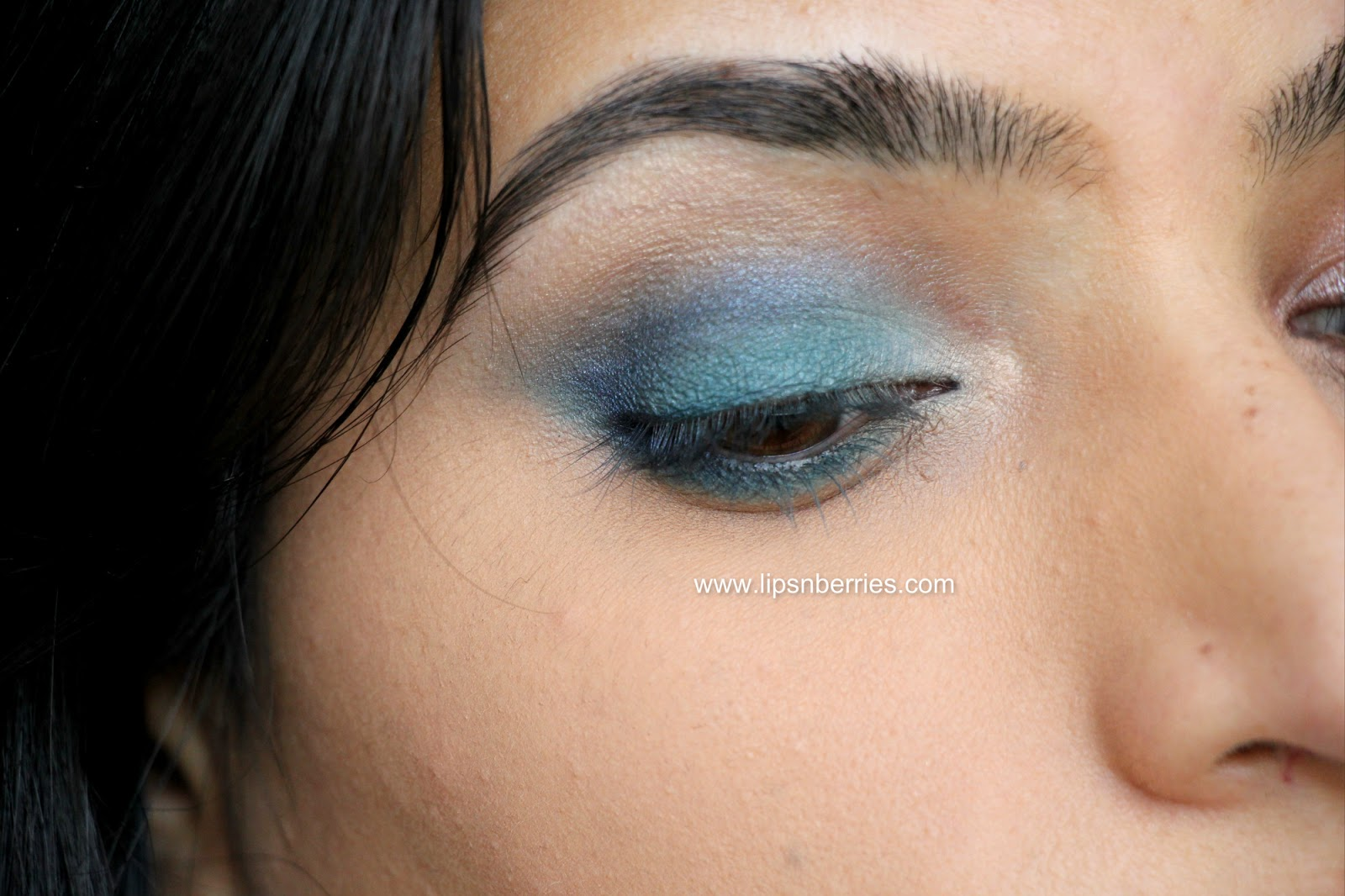 Brown Eyes Turquoise Blue Or Forest Green Lips N Berries