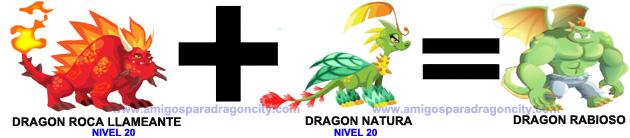 como sacar el dragon rabioso en dragon city formula 2