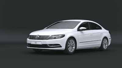 VW Show CC R-Line Modifications in 3D