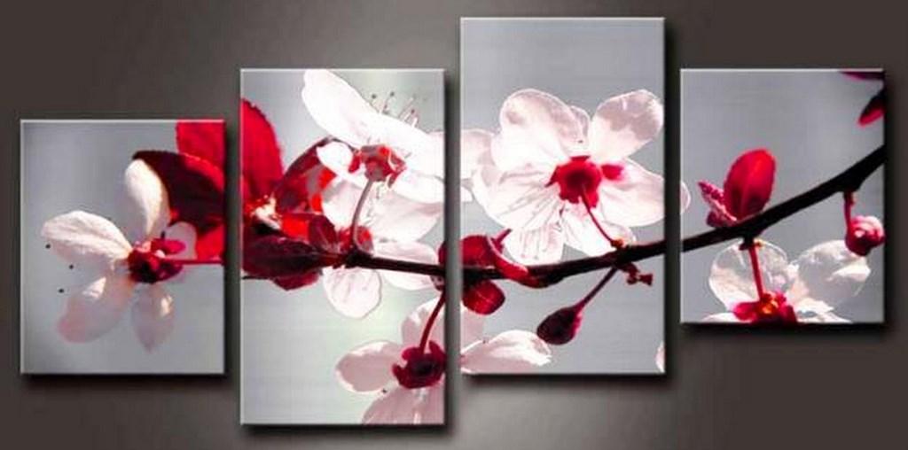 Cuadros flores orquideas tr ptico imagui for Cuadros de manualidades modernos