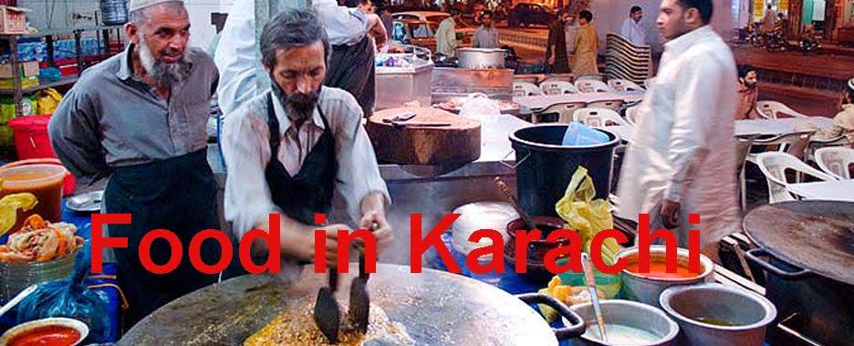 Food in Karachi