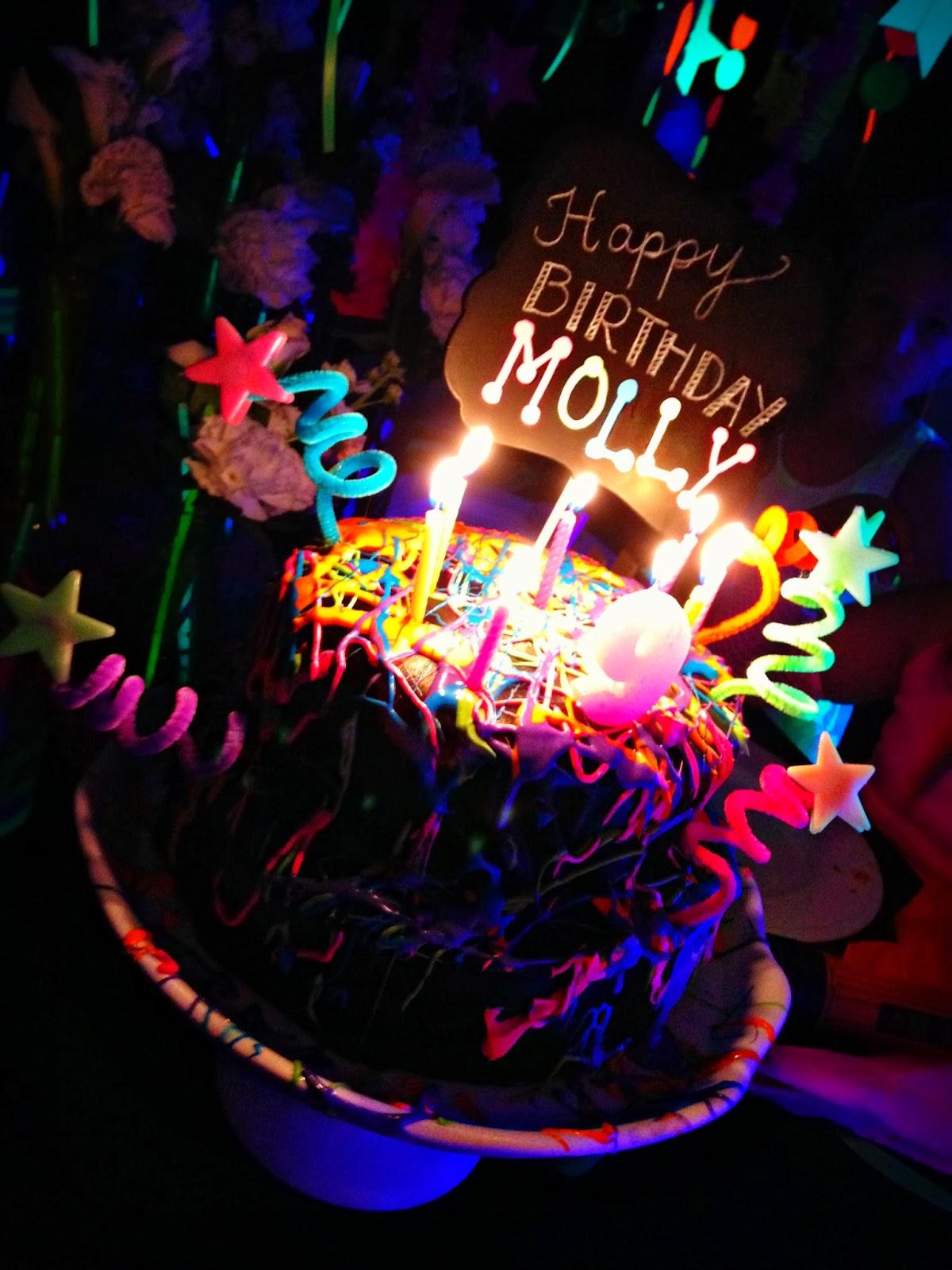 Bringing Up Burns Mollys NINTH NeonGlow in the Dark Dance