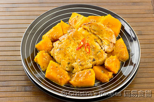 南瓜豬扒 Pumpkin Pork Chop02