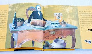 Wnętrze książki – Chopin przy stole
