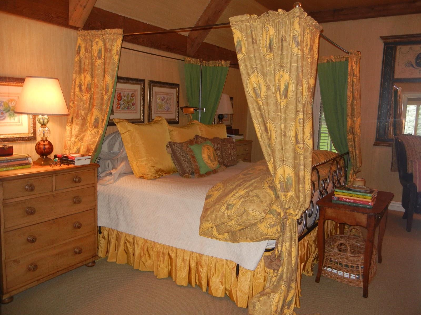 The French Tangerine Master Bedroom Change