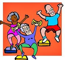 Idosos podem fazer atividade fisica