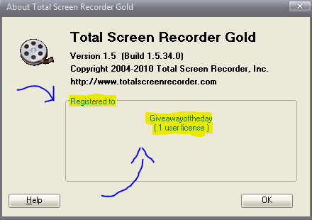 2016 01 13 total screen recorder serial code fandeluxe Images