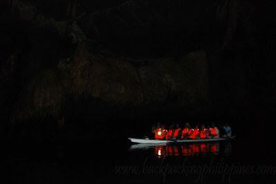 palawan underground river inside