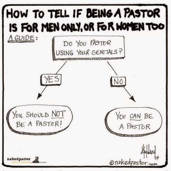 http://nakedpastor.com/2014/12/a-guide-to-tell-if-women-are-allowed-to-be-pastors/