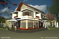 Foto de diseño de casa moderna 3D