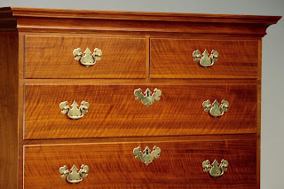 High Chest Tallboy with crown molding