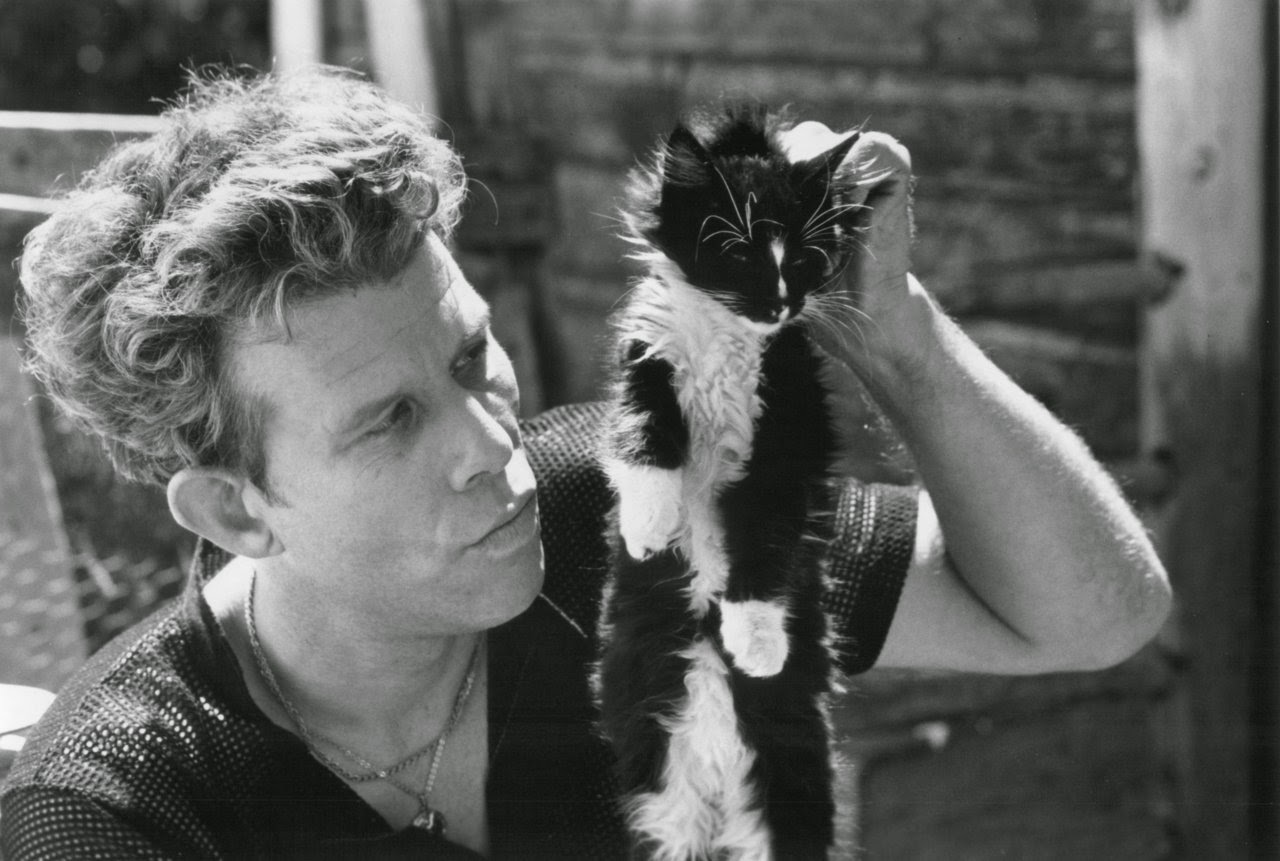 tom waits and cat
