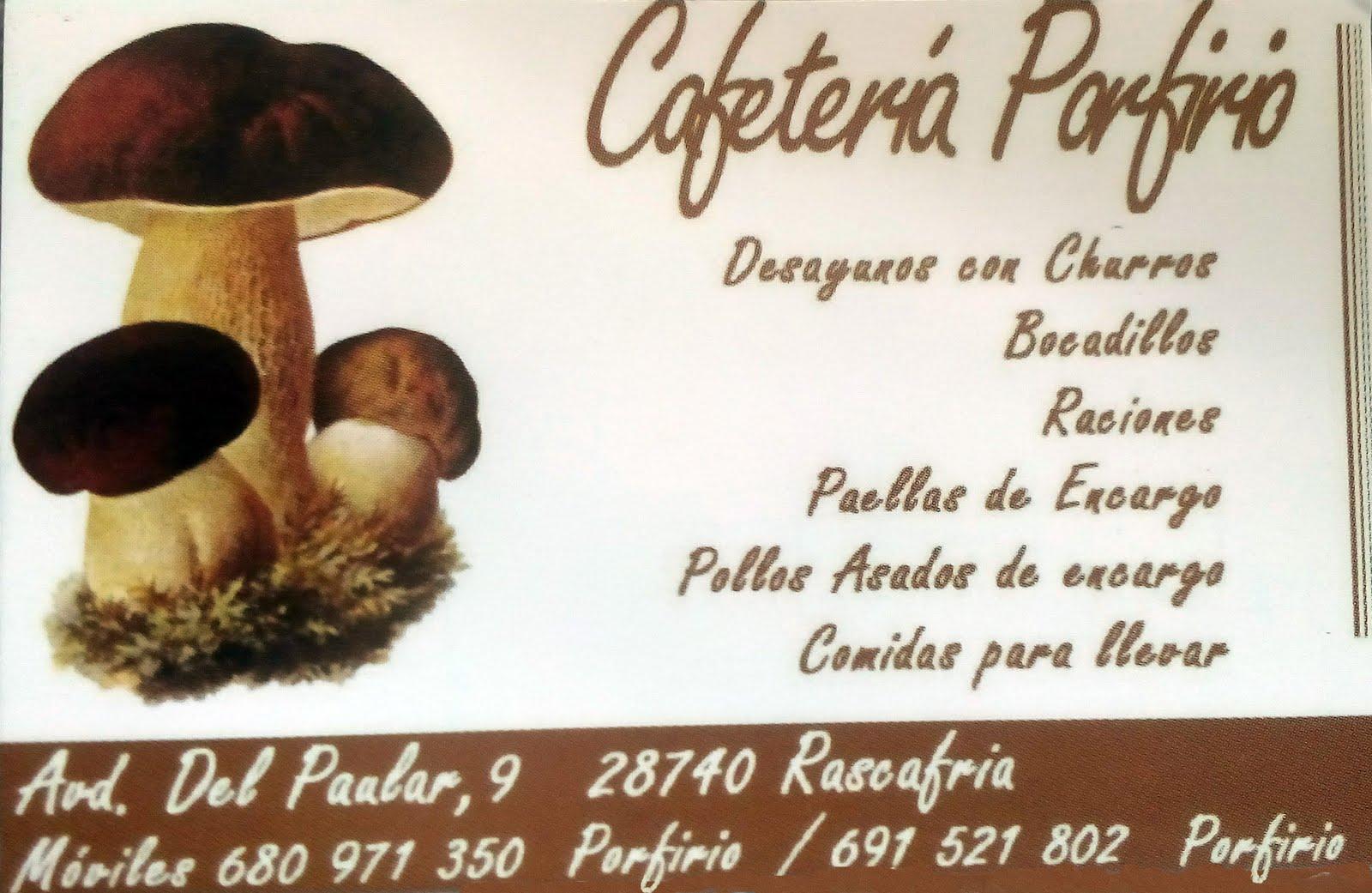 Cafetería Porfirio